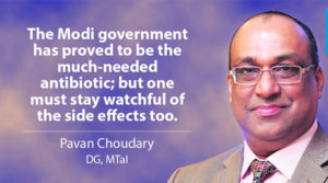 Modi: The Much-Needed Antibiotic – Some Side Effects too